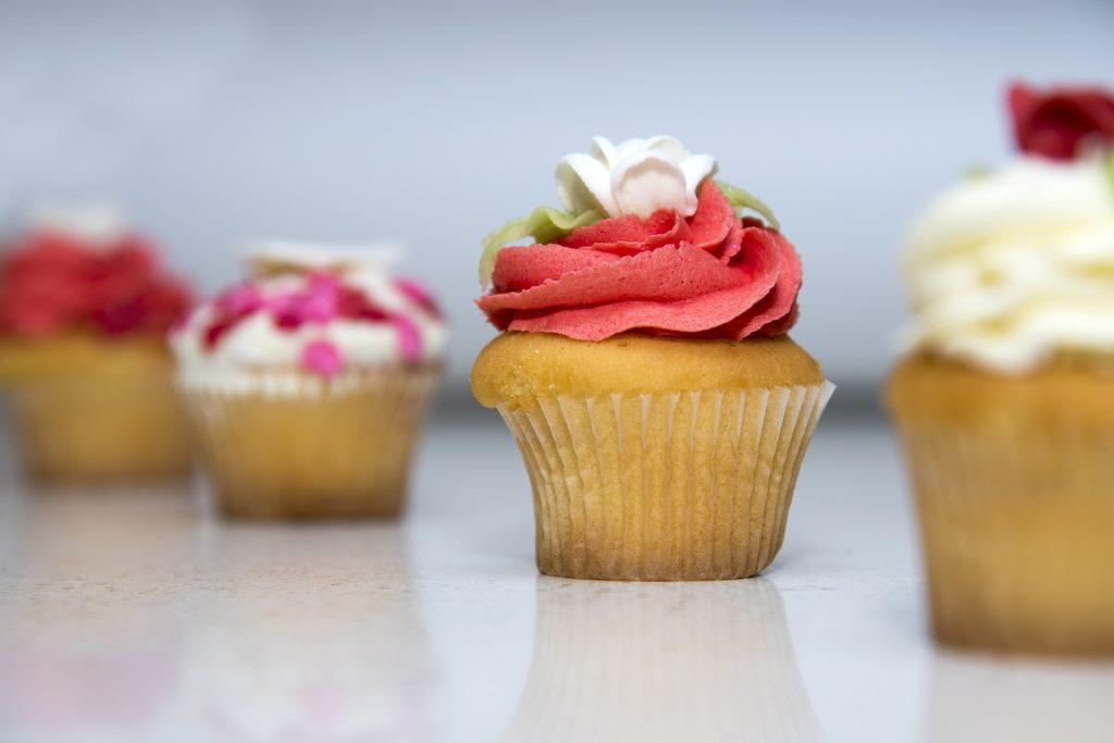 Cupcakes im Pink Cupcake Cafe